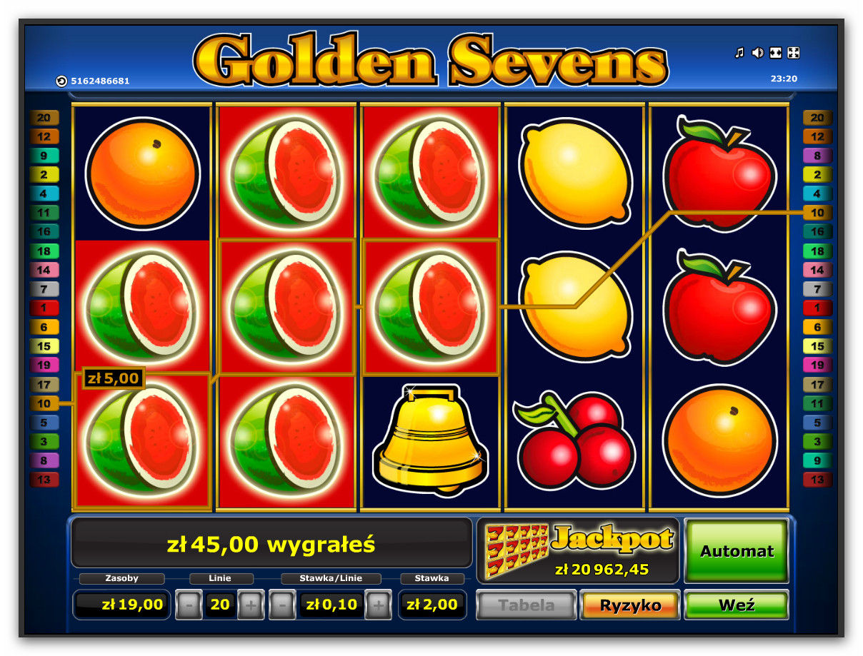 golden casino online sizzling hot