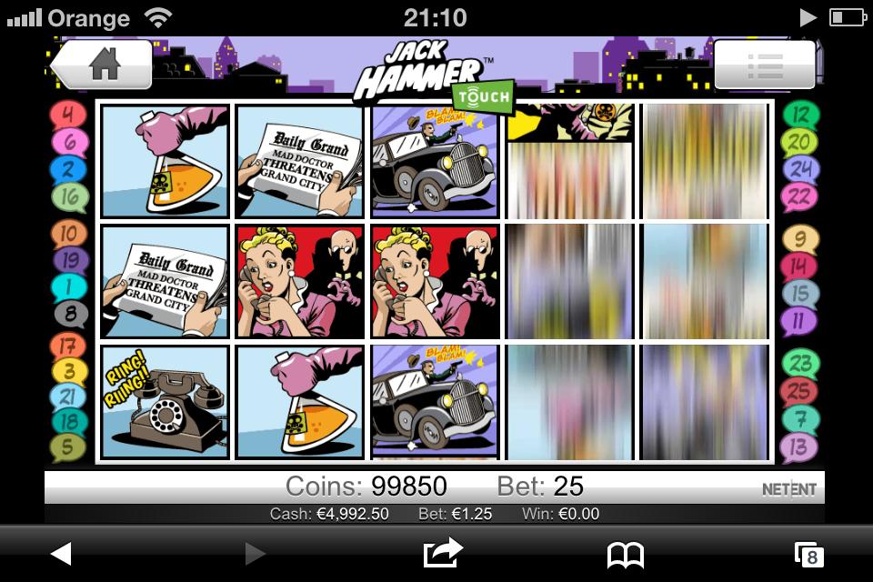 Kasyno Casino Euro w wersji mobilnej