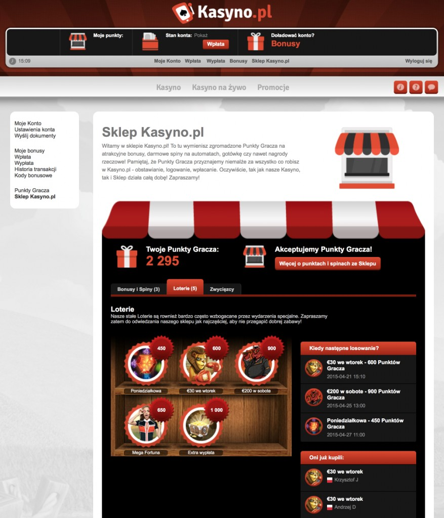Kasyno.pl - sklep gracza_Recenzja_KasynoRankingCOM