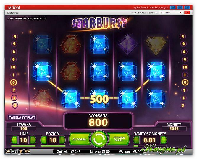 Kasyno_Redbet_recenzja_kasyno.pl___Automat do gry Starburst_x666