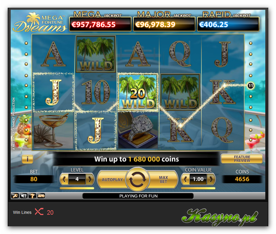 Mega Fortune Dreams Automat do Gry