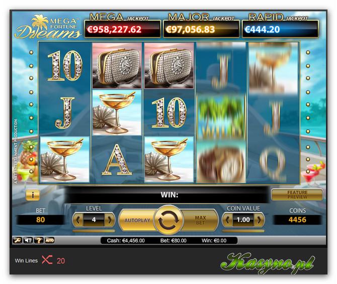 Mega Fortune Dreams Automat do Gry_02