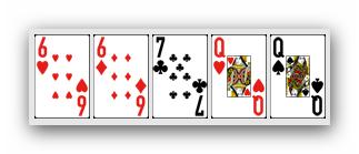 Ranking ukladow w pokerze - dwie pary