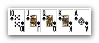 Ranking ukladow w pokerze - poker krolewski