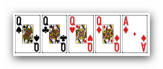 Ranking ukladow w pokerze - kareta