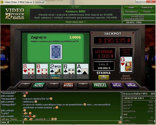 Nowy video poker w kasynie Casino.pl