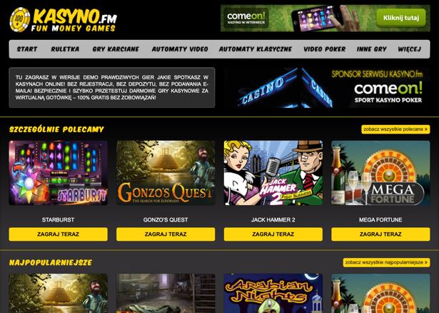 recenzje gier kasynowych